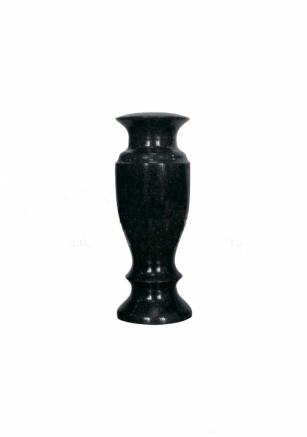 Ваза Гранит №006 - 25 см на могилу