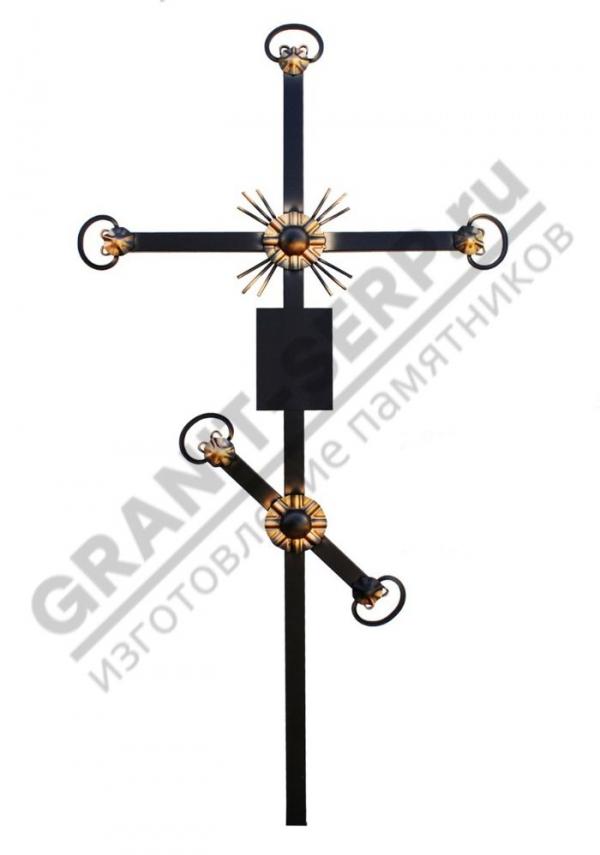 Крест метал. 0068