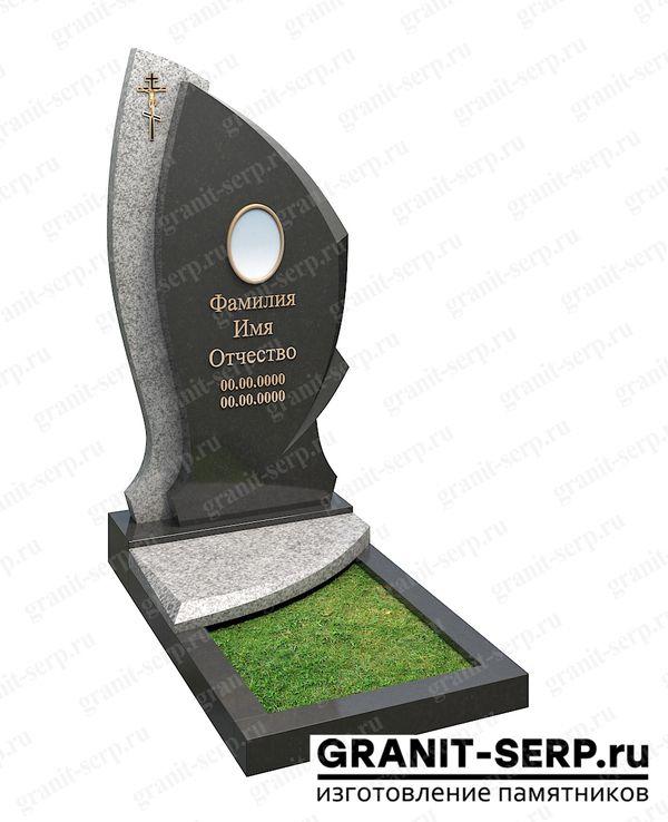 Памятник фрезерный: Гранит №04-2ф