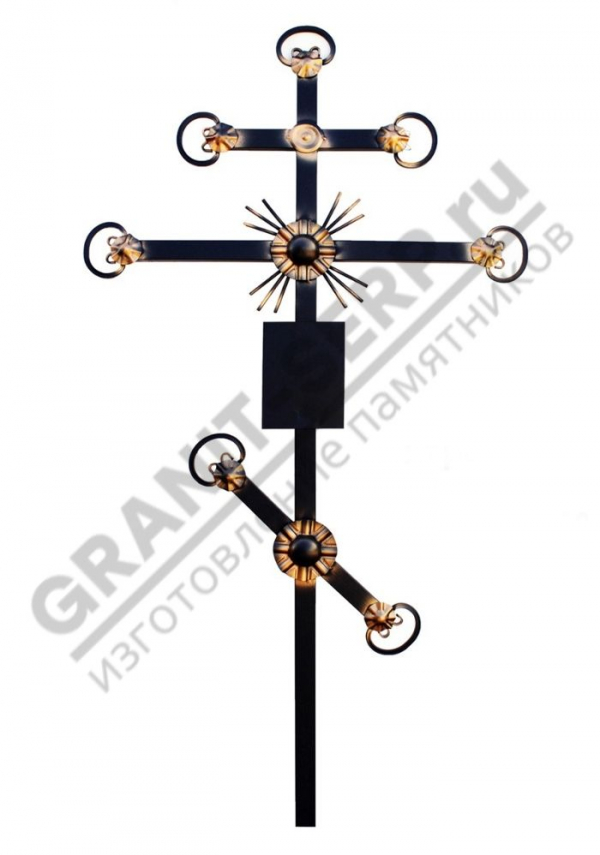 Крест метал. 0069