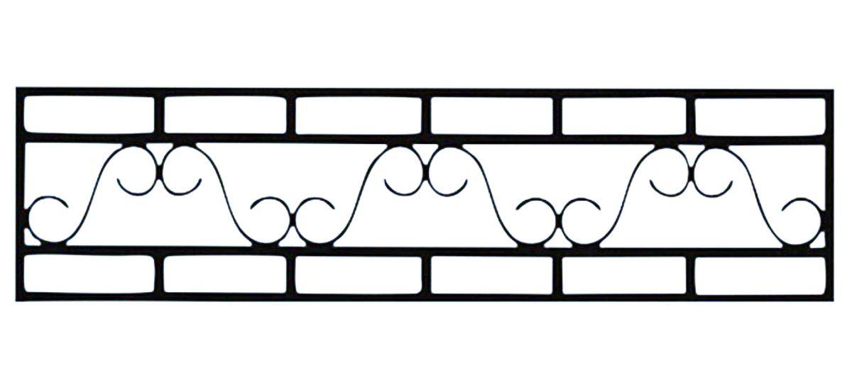 Ограда стальная № 047