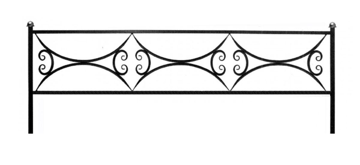 Ограда (Арочная 15)