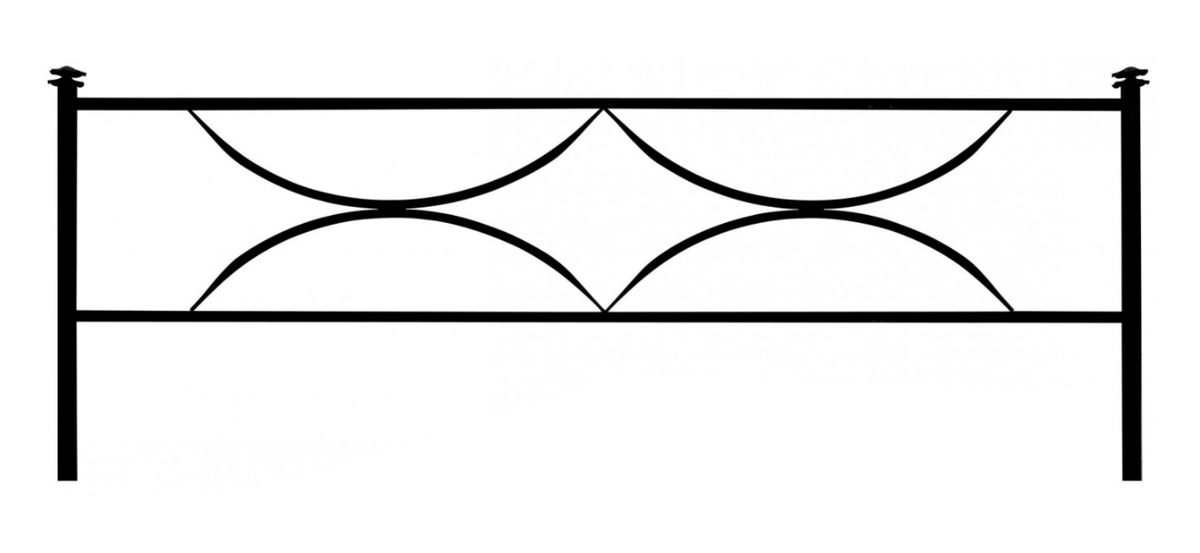 Ограда на могилу (Дуговая 15)