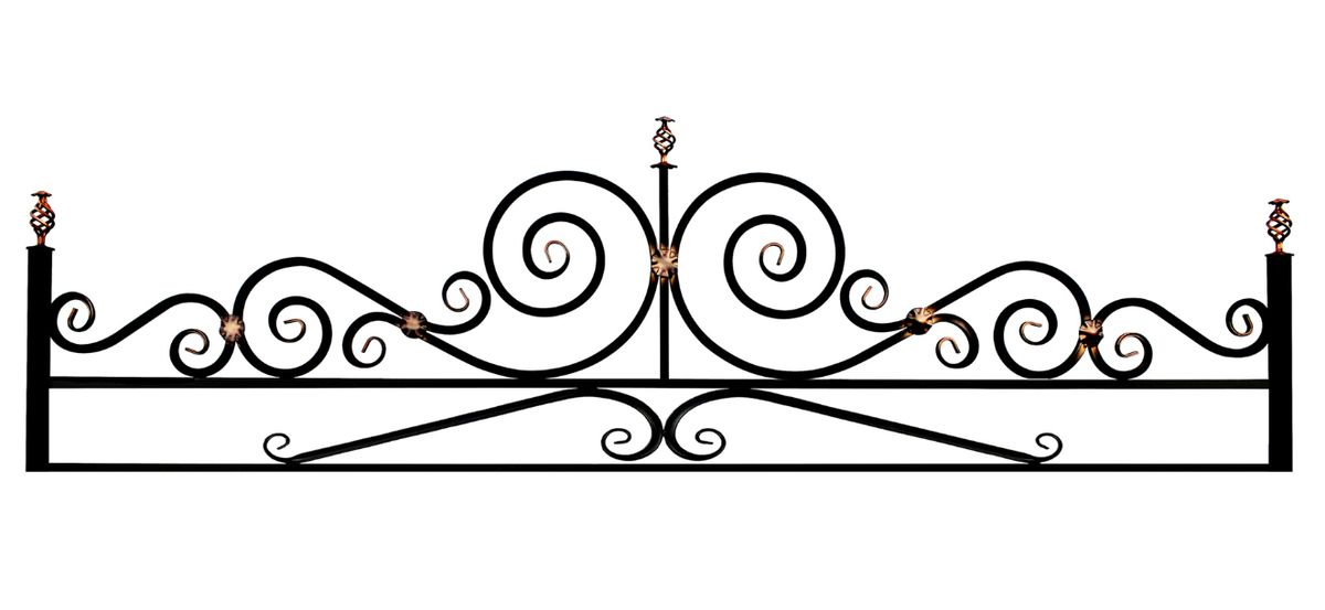 Ограда на могилу (Эвольвента 20 на поясе)
