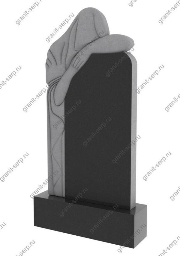 Памятник на могилу скорбящая мать №1206