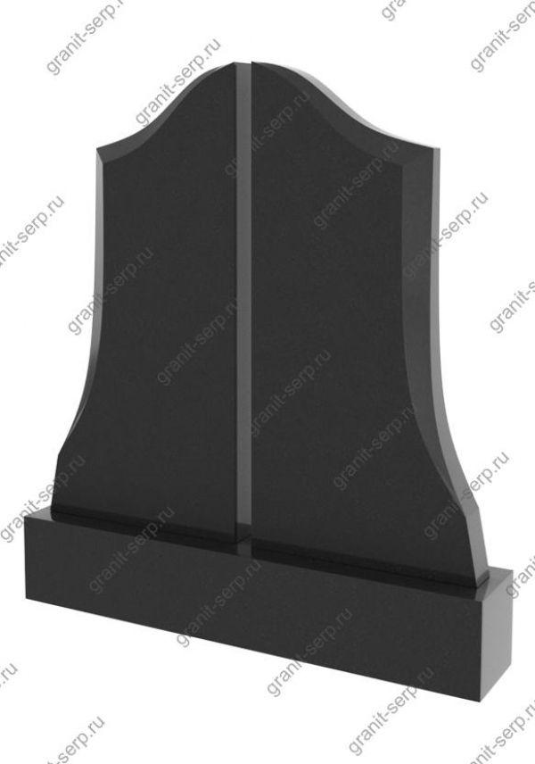 Горизонтальный памятник на могилу на двоих №2401