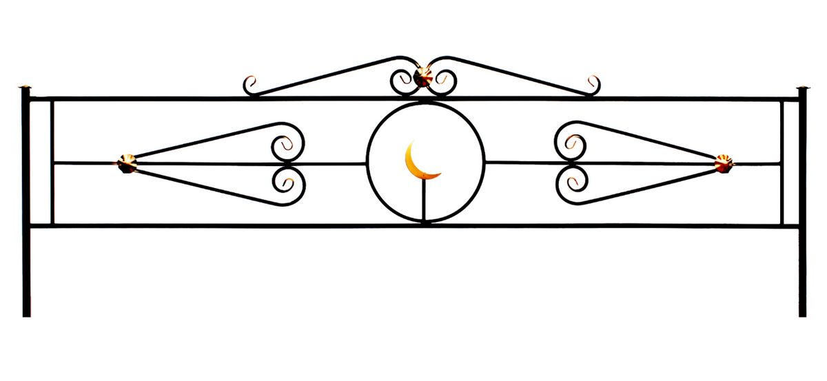 Ограда на могилу (Мусульманская)