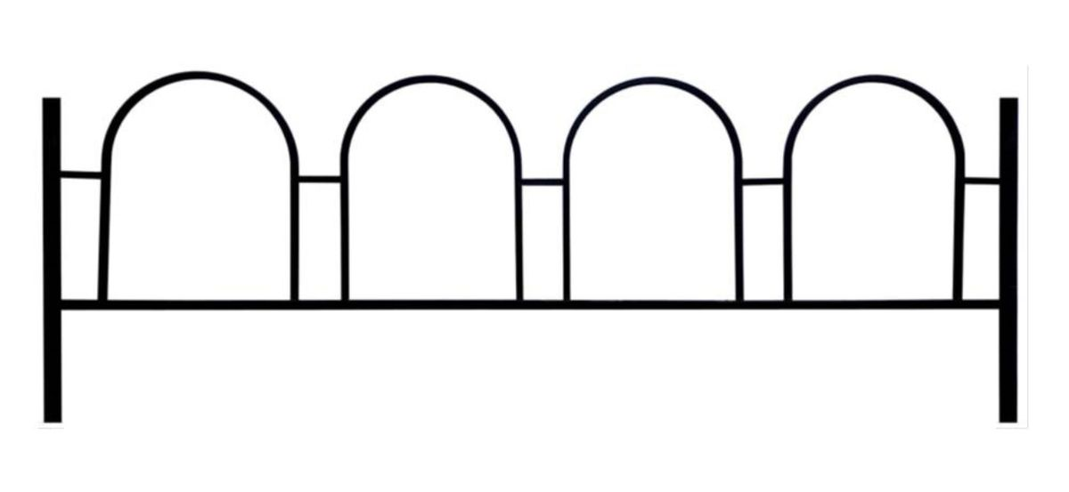 Ограда на могилу (Санта-Барбара)