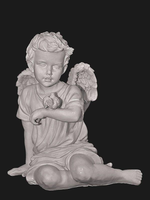 Скульптура из Литьевого мрамора №05 Ангел.