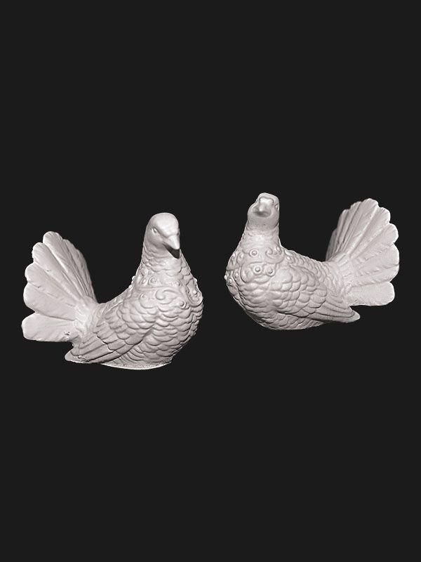 Скульптура из Литьевого мрамора №021 Голубь, голубка.