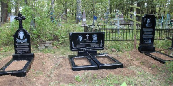 Цветник на могилу (Литьевой №003)