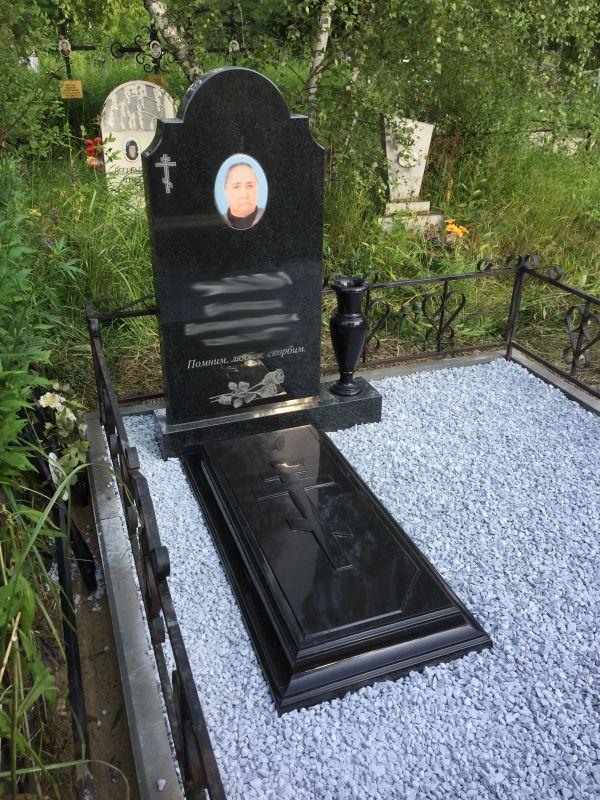 Цветник на могилу (Литьевой №006)