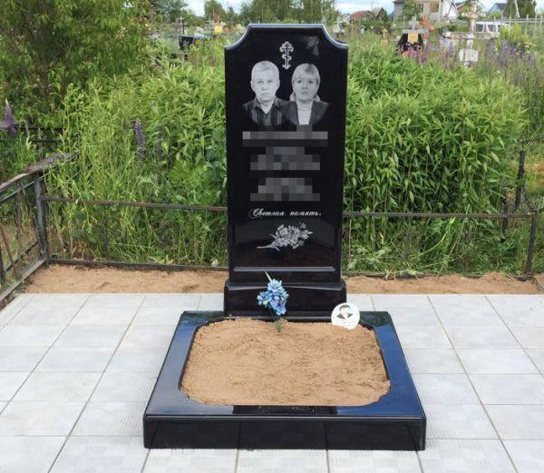 Цветник на могилу (Литьевой №009)
