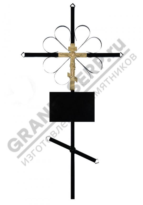 Крест метал. 0065