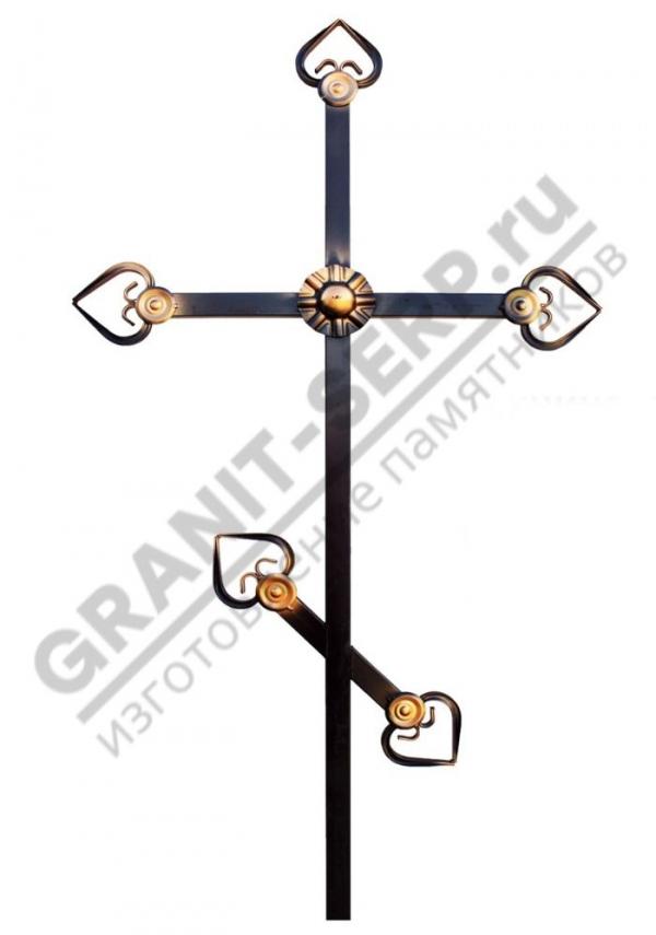 Крест метал. 0067