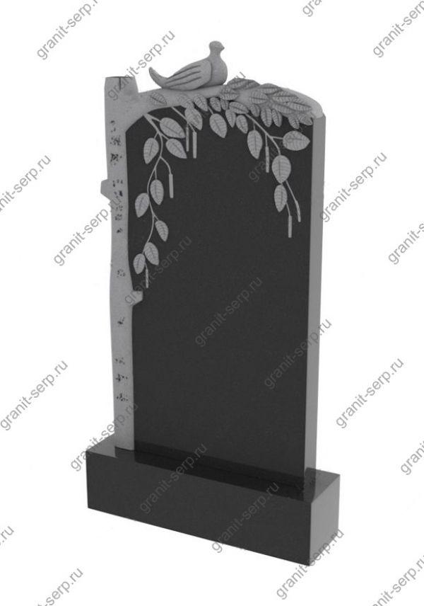Памятник на могилу березка №1243