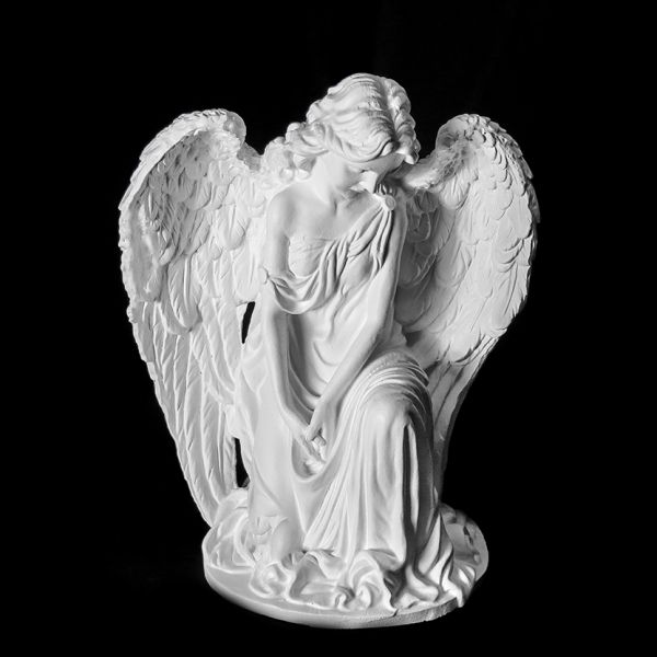 Скульптура из Литьевого мрамора №023 Скорбящая скульптура.