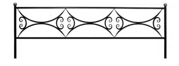 Ограда на могилу (Арочная 15)