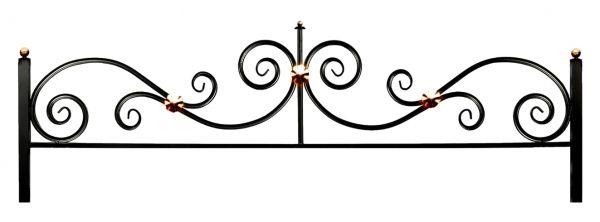 Ограда на могилу (Эвольвента 15)