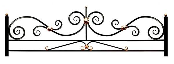 Ограда на могилу (Эвольвента 15 на поясе)
