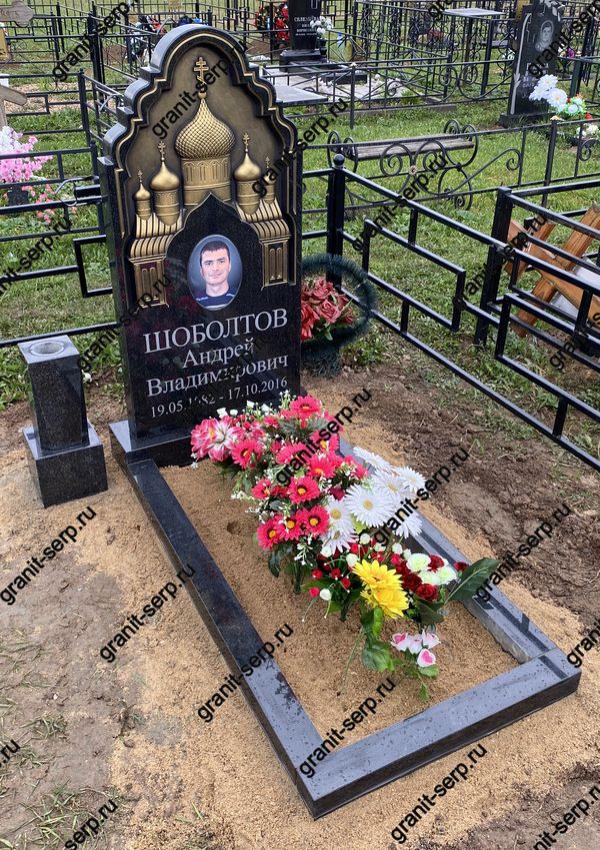 Памятник фрезерный: Гранит №53 Собор.