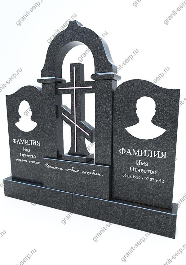 Памятник на могилу из гранита №3019