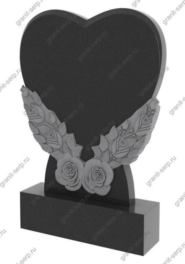 Памятник на могилу сердце №1190