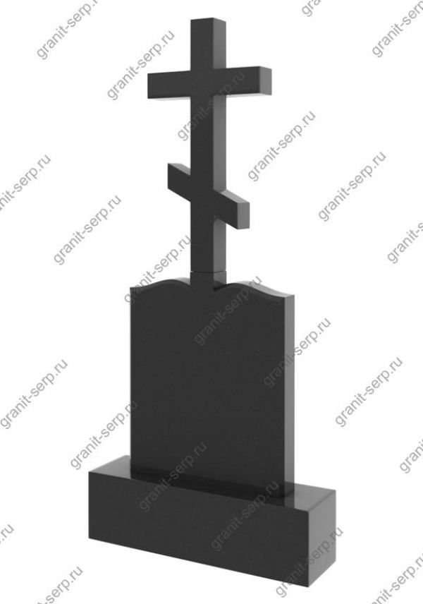 Надгробный памятник с крестом: Гранит №2704
