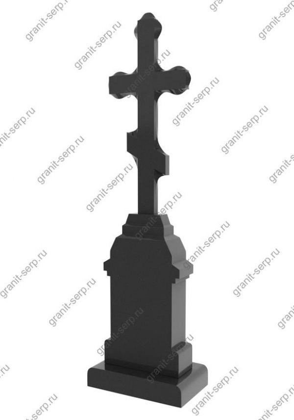 Памятник с крестом из гранита №2711