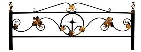 Ограда (Кованный лист)
