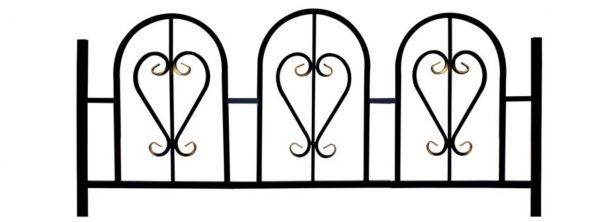 Ограда на могилу (Марьяж)