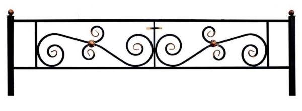 Ограда на могилу (Паллада)