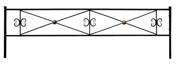 Ограда на могилу (Ромб 2)