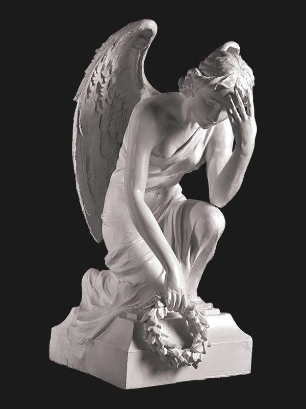 Скульптура из Литьевого мрамора №037 Ангел.