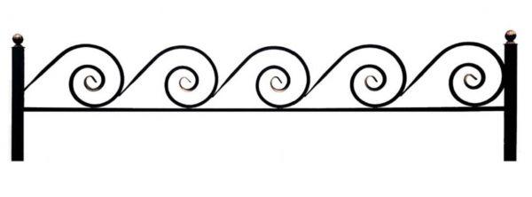 Ограда на могилу (Улитка 15)