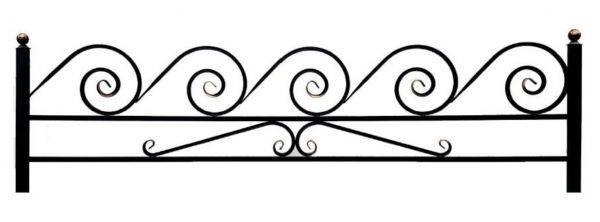 Ограда на могилу (Улитка 15 на поясе)