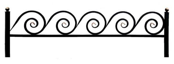 Ограда на могилу (Улитка 20)