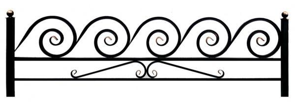 Ограда на могилу (Улитка 20 на поясе)