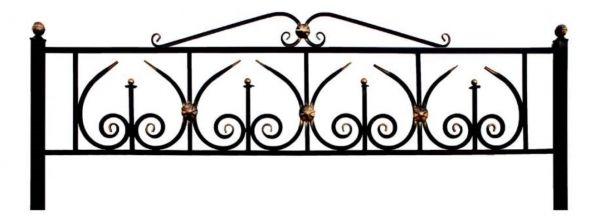 Ограда на могилу (Юпитер с навершием)