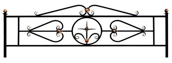 Ограда на могилу (Венера)