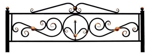 Ограда на могилу (Верона)