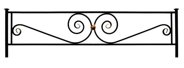 Ограда на могилу (Виктория)