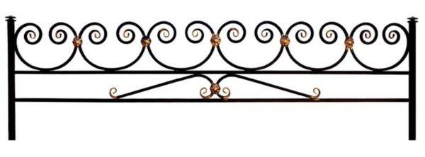 Ограда на могилу (Волна 15 на поясе)